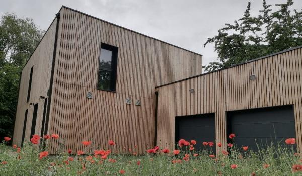 Construction d'une maison individuelle passive à Noyelles-les-Seclin